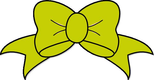 600x311 Ribbon Clipart Yellow Bow