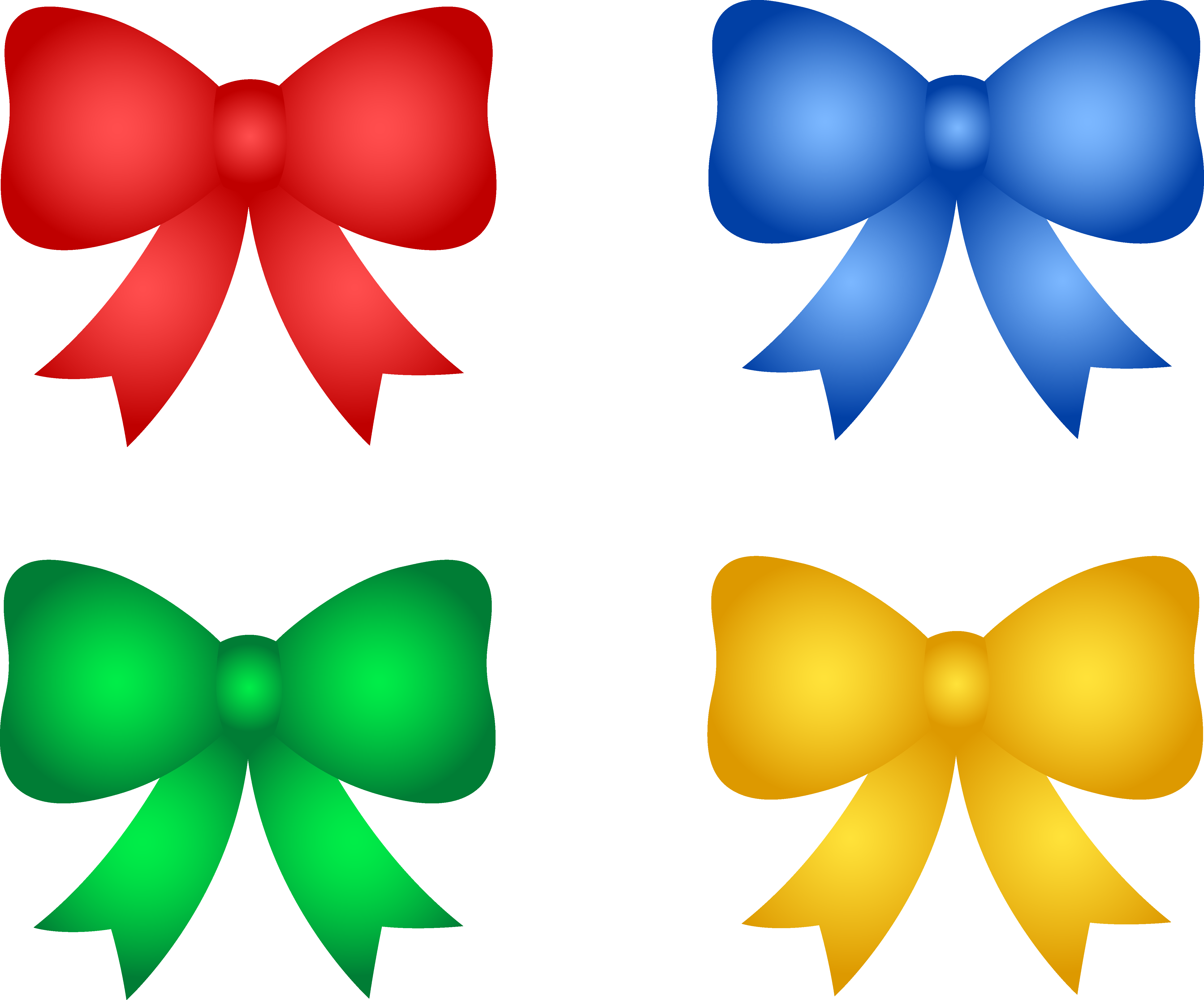 5095x4231 Birthday Christmas Ribbon Clip Art Merry Christmas Amp Happy New