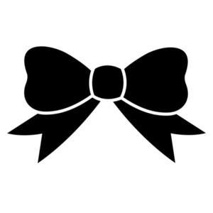300x300 Ribbon Clipart Black And White