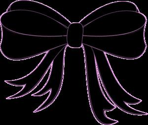 300x252 Black Bow Ribbon Clip Art