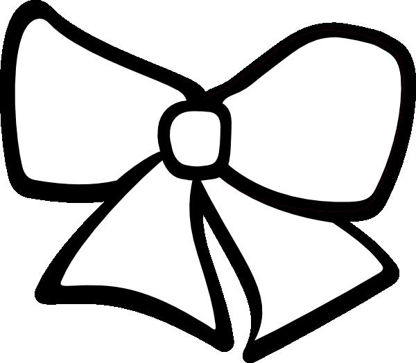 600x524 Black And White Ribbon Clipart Kid 3
