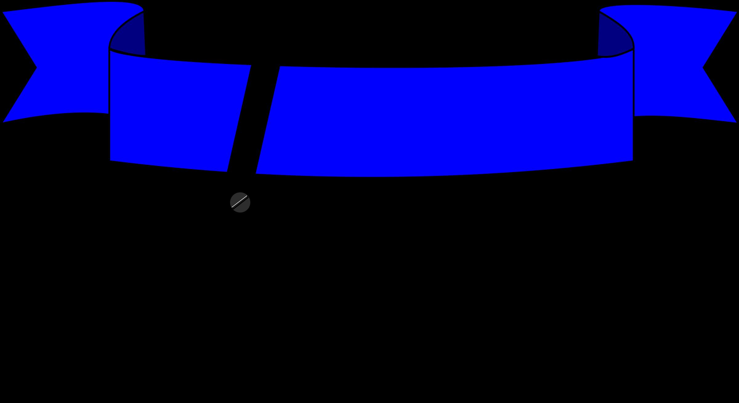 2400x1311 Clip Art Cutting Blue Ribbon Clipart