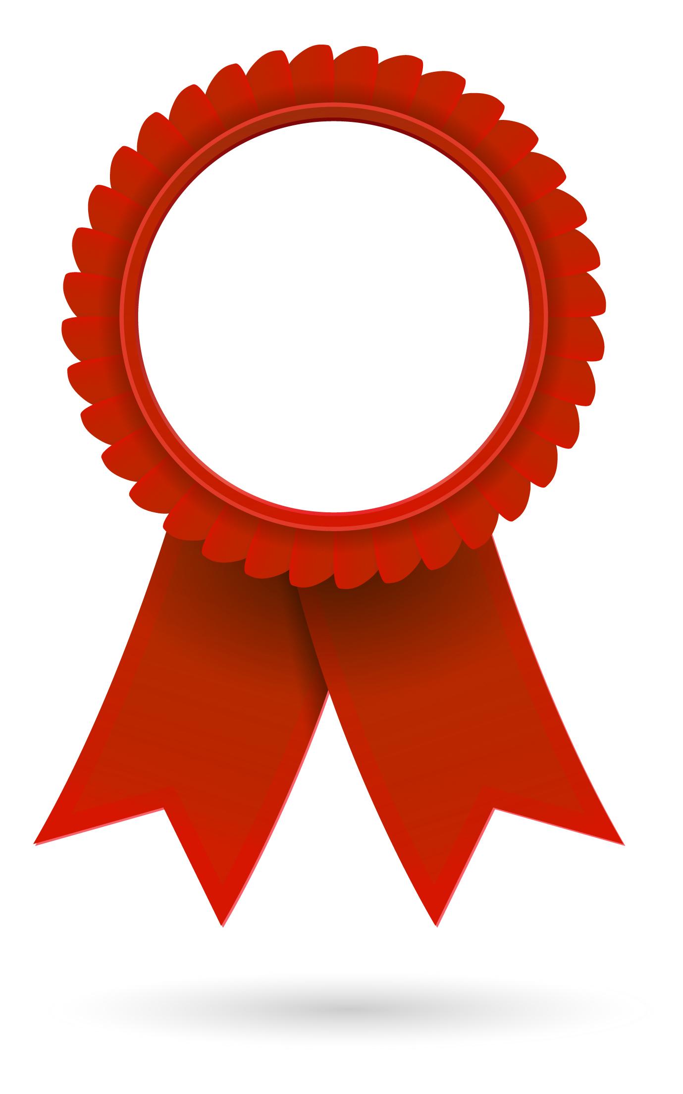 1379x2208 Red Award Ribbon Clipart