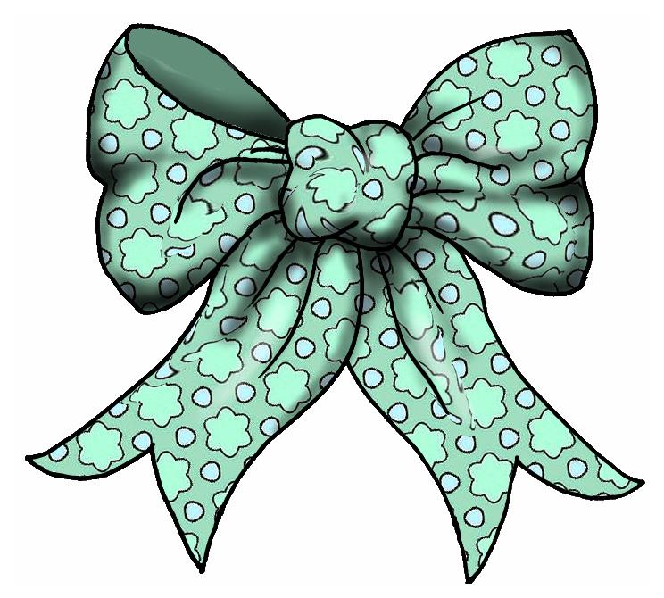 744x670 Christmas Ribbon Clipart