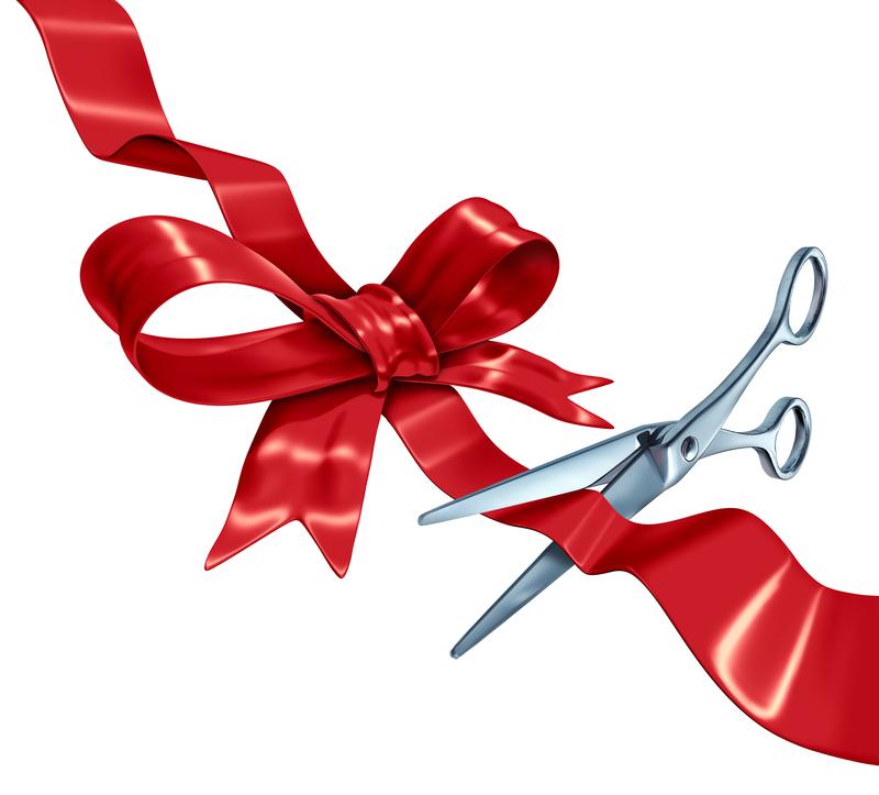800x723 Ribbon Cutting Cermony
