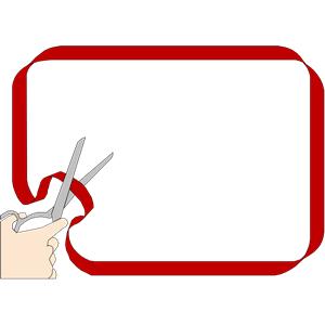 300x300 Ribbon Cutting Clipart