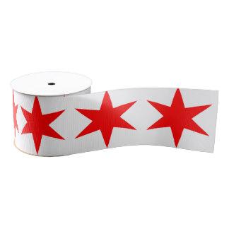 324x324 Chicago Flag Craft Ribbon Zazzle