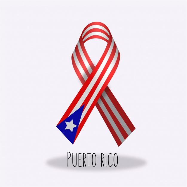 626x626 Puerto Rico Flag Ribbon Design Vector Free Download