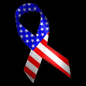 300x300 American Flag Clipart Ribbon