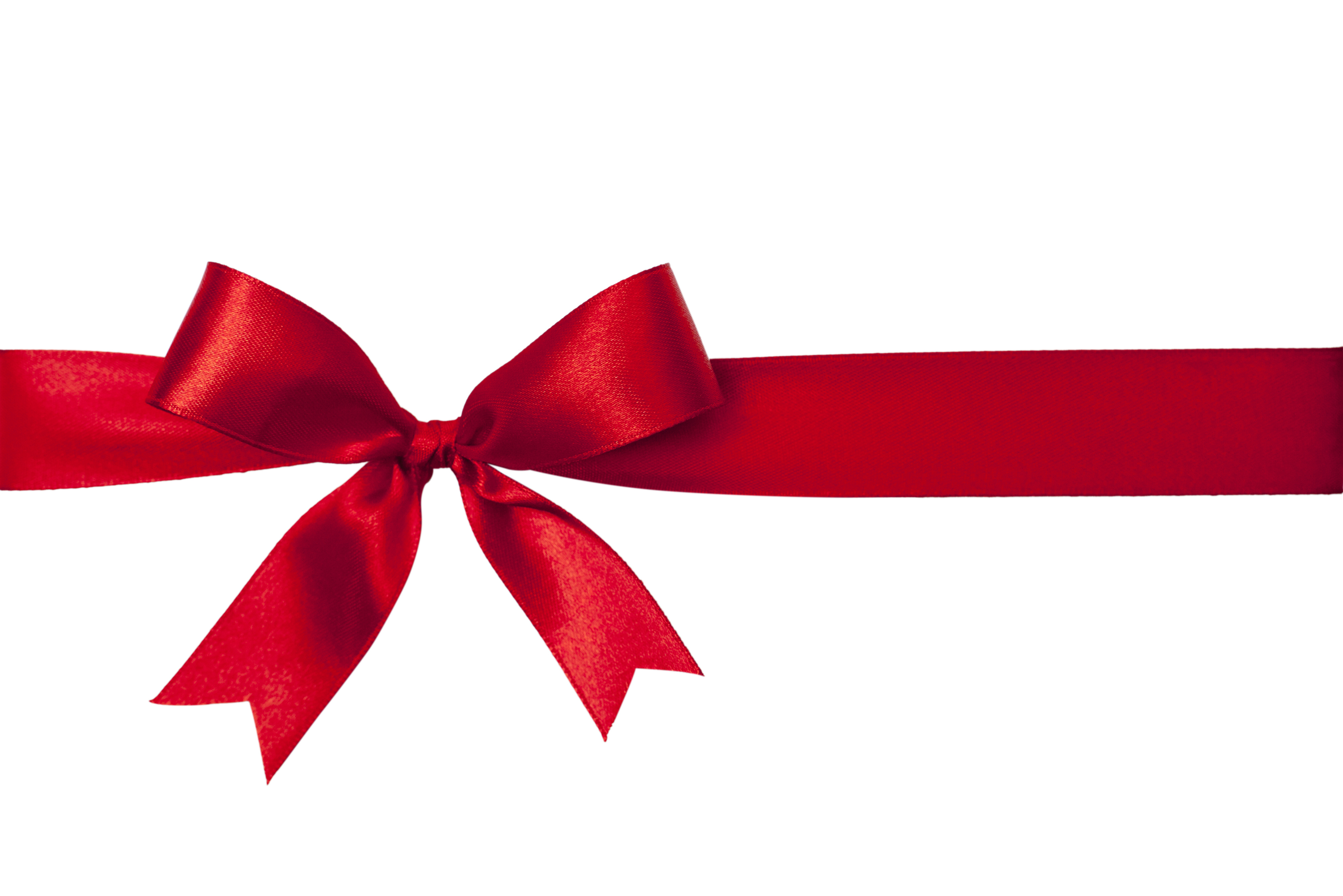 4000x2670 Red Ribbon Clipart