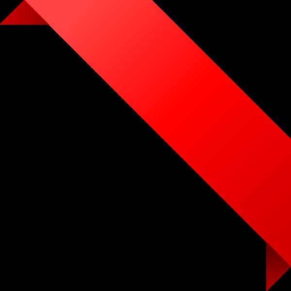 600x600 Ribbon Clipart Corner