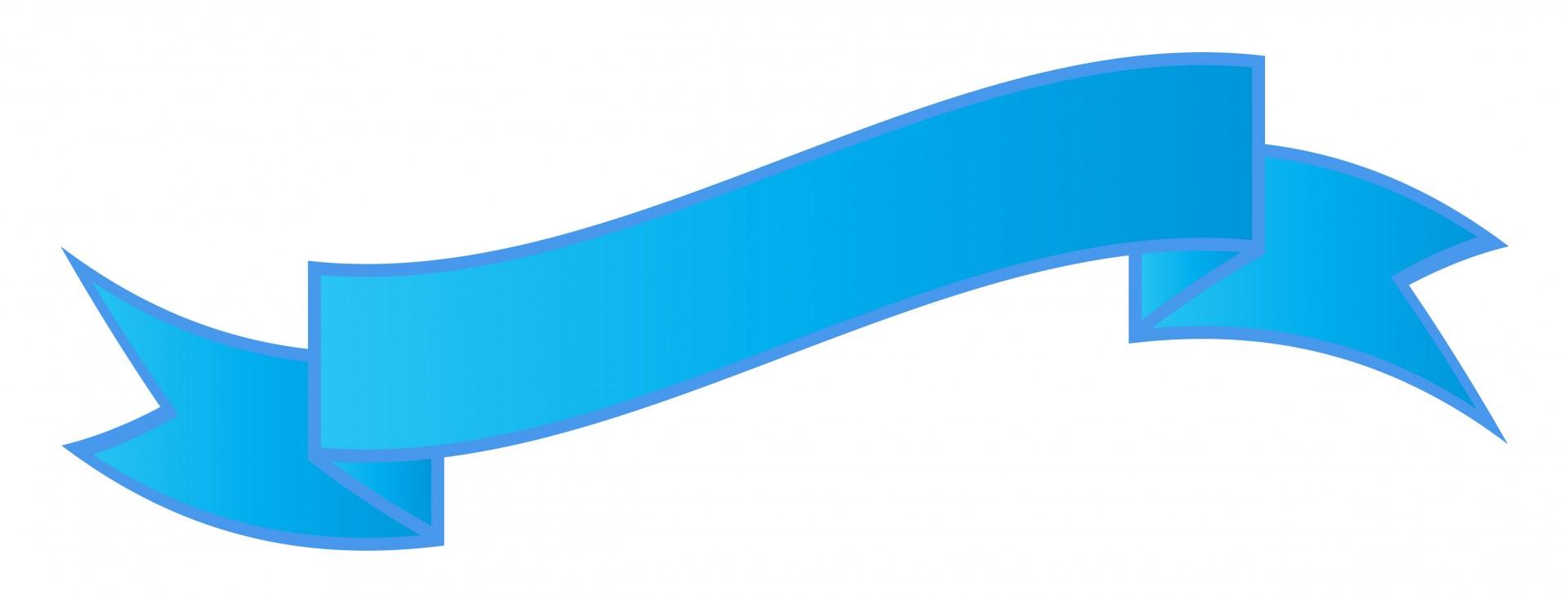 1920x734 Blue Ribbon Banner Free Stock Photo