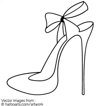 335x355 Download Blade Outline With Ribbon Bow