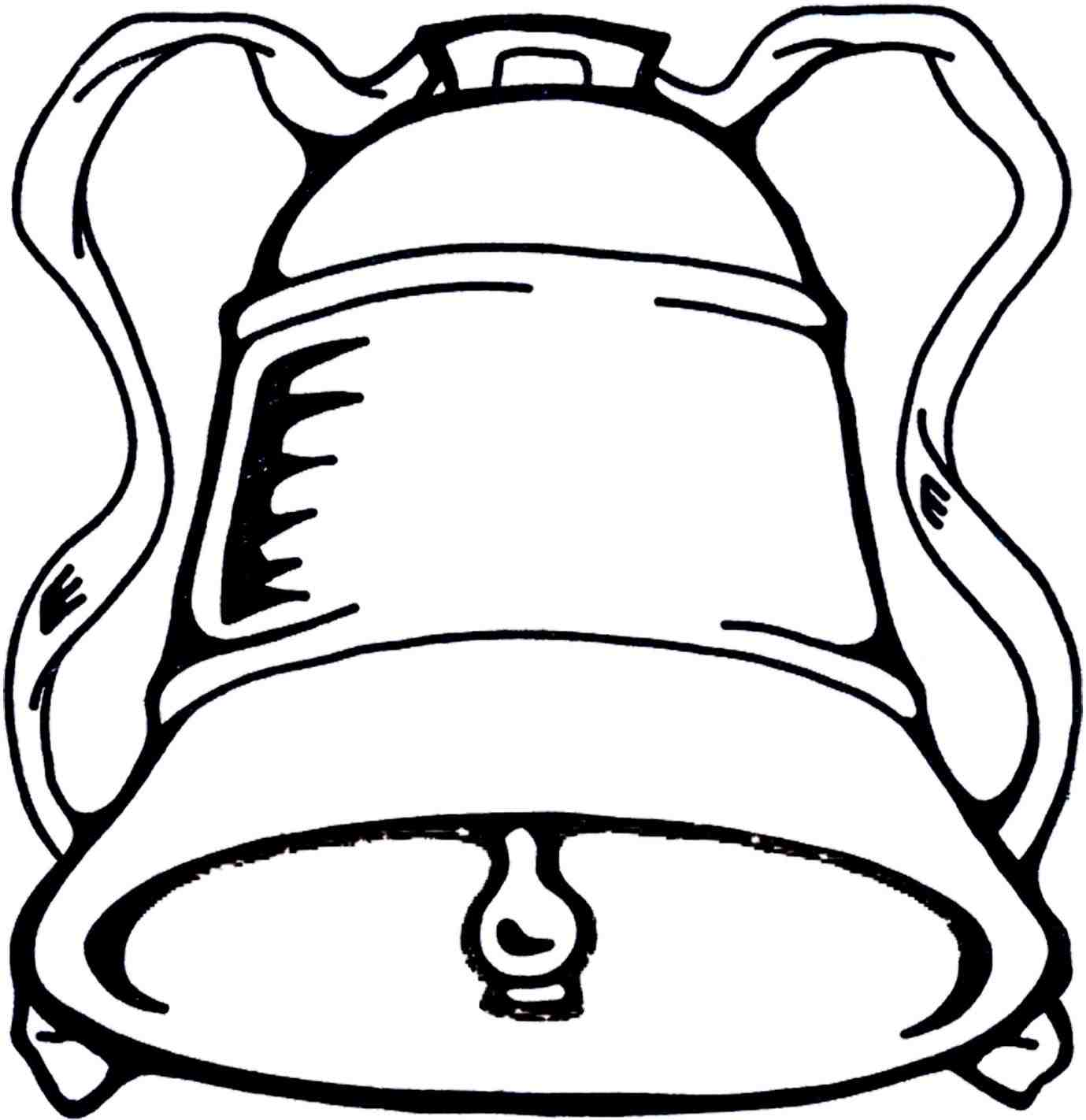 1379x1422 Freehand Drawing Stock Vector With Free Clip Art S Christmas Bell