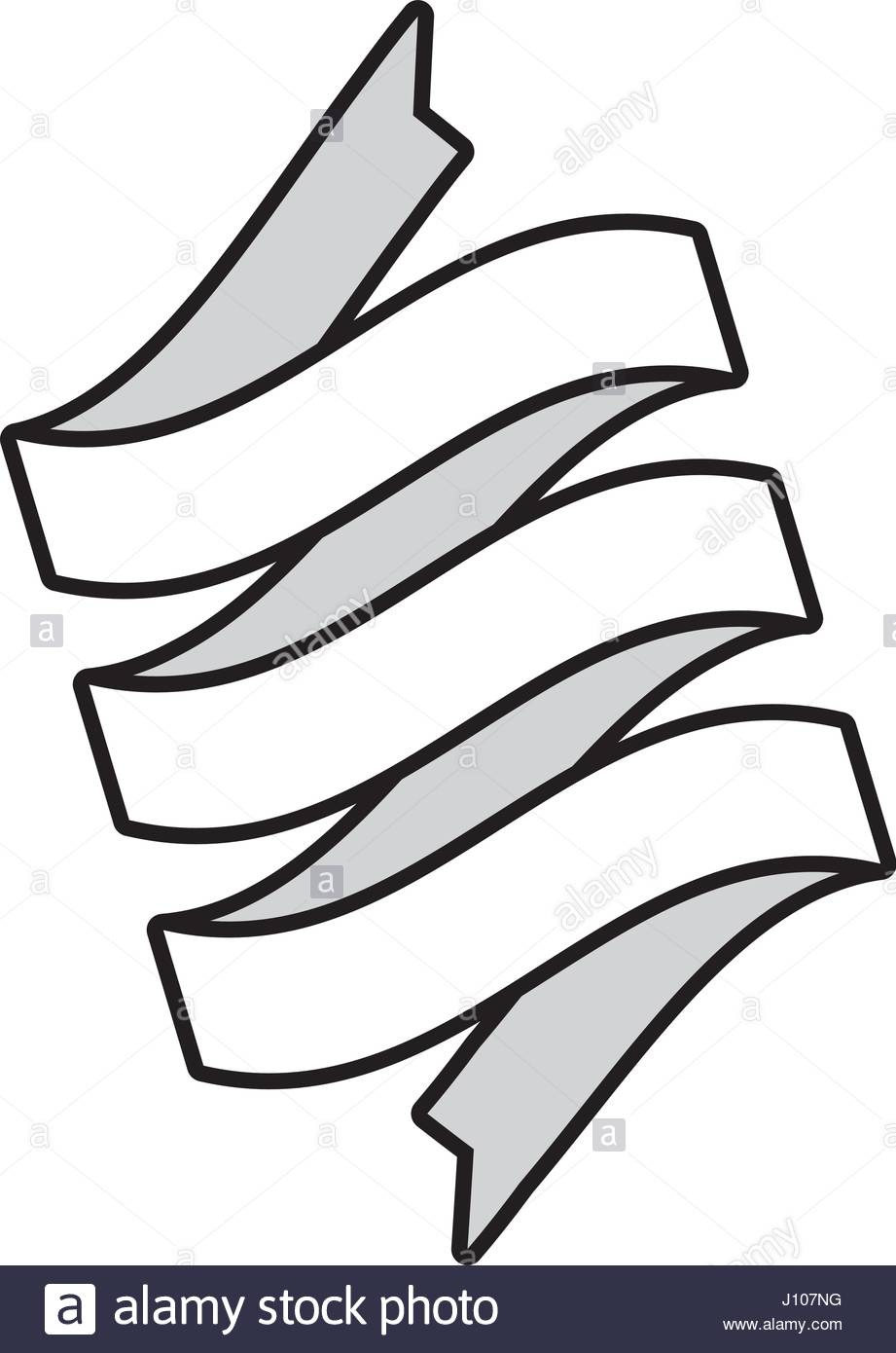921x1390 Ribbon Banner Decoration Icon Outline Stock Vector Art