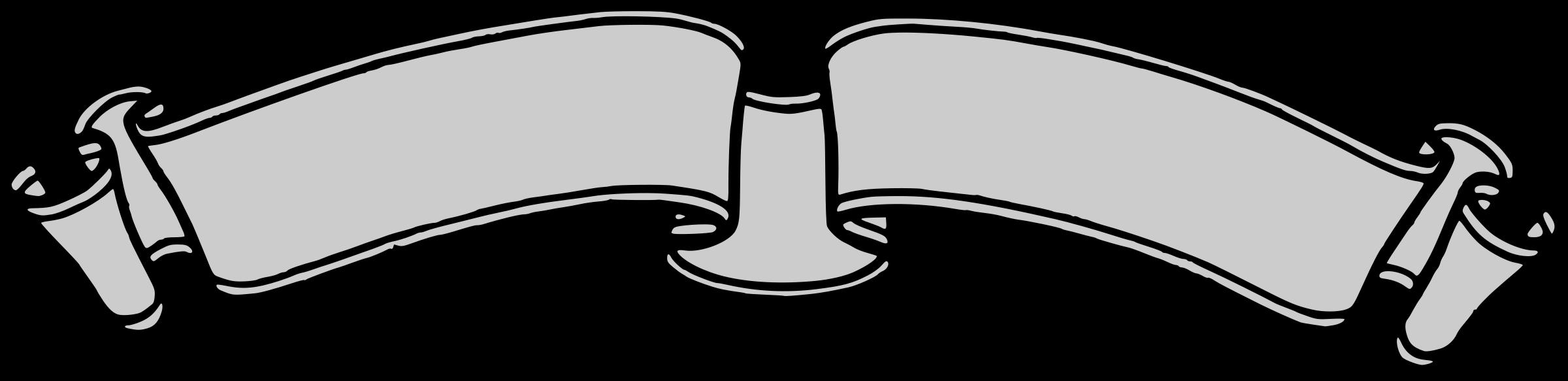 2400x583 Blank Ribbon Clip Art