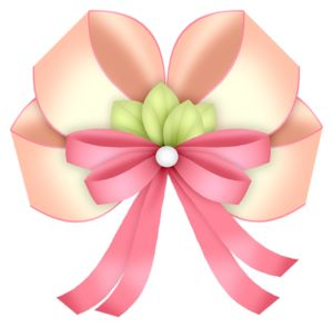 300x294 87 Best Ribbon Bows Images Button, Pictures
