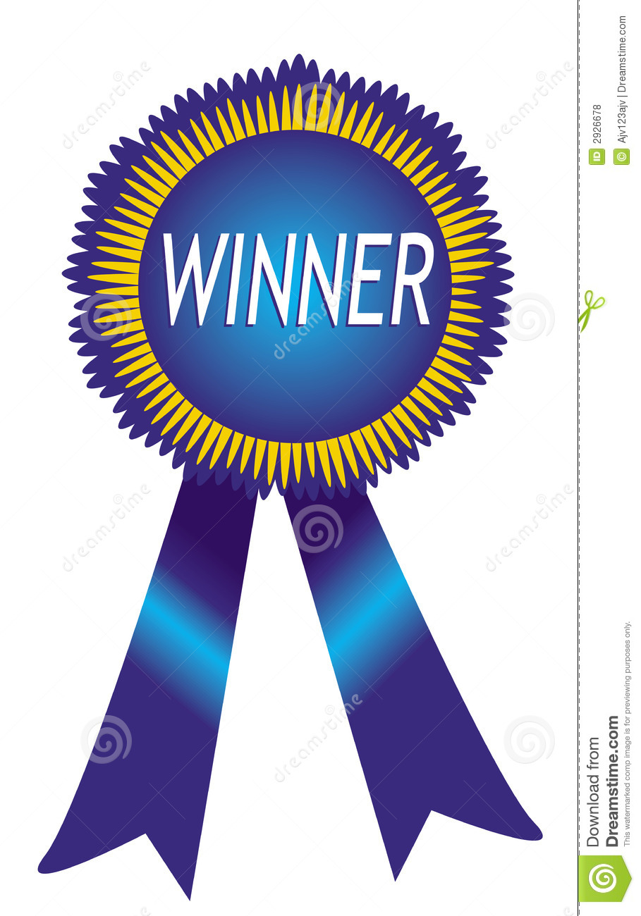 909x1300 Winner Ribbon Clipart
