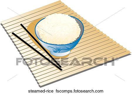 450x319 Clipart Of Steamed Rice Steamed Rice
