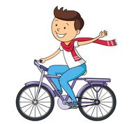 Riding A Bike Clipart | Free download best Riding A Bike ...