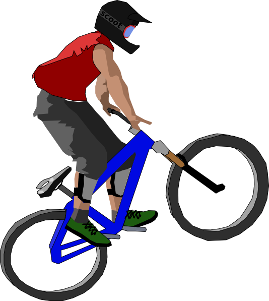 534x597 Bike Gallery For Riding Bicycle Clipart 2