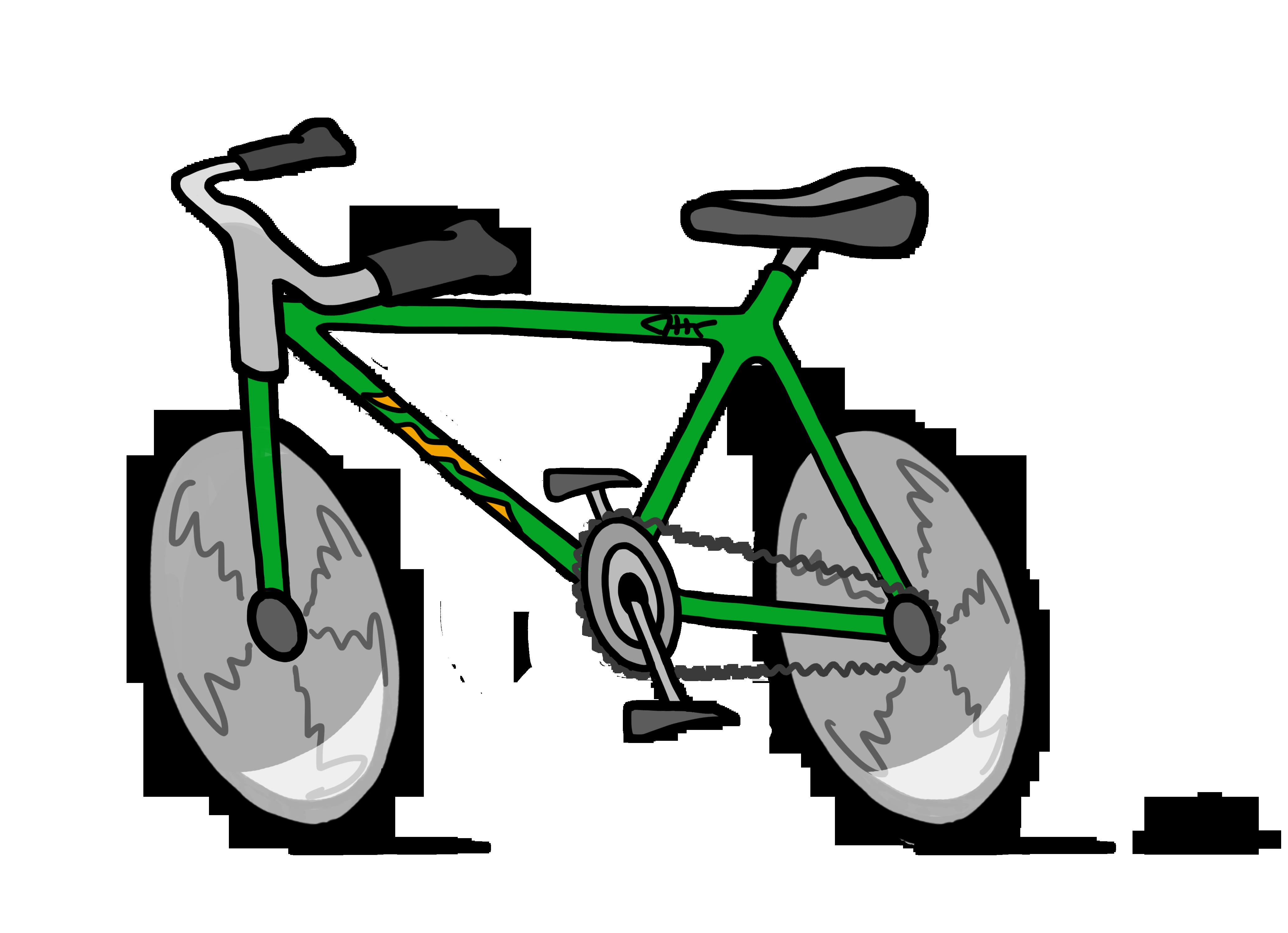 4142x3000 Clip Art Bike Many Interesting Cliparts