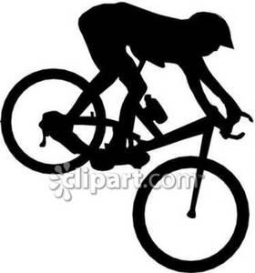 280x300 Pin Mountain Man Riding Bike Clip Art Bicycle Logos