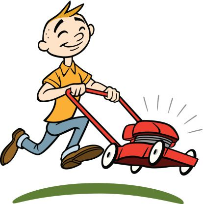 Riding Mower Clipart