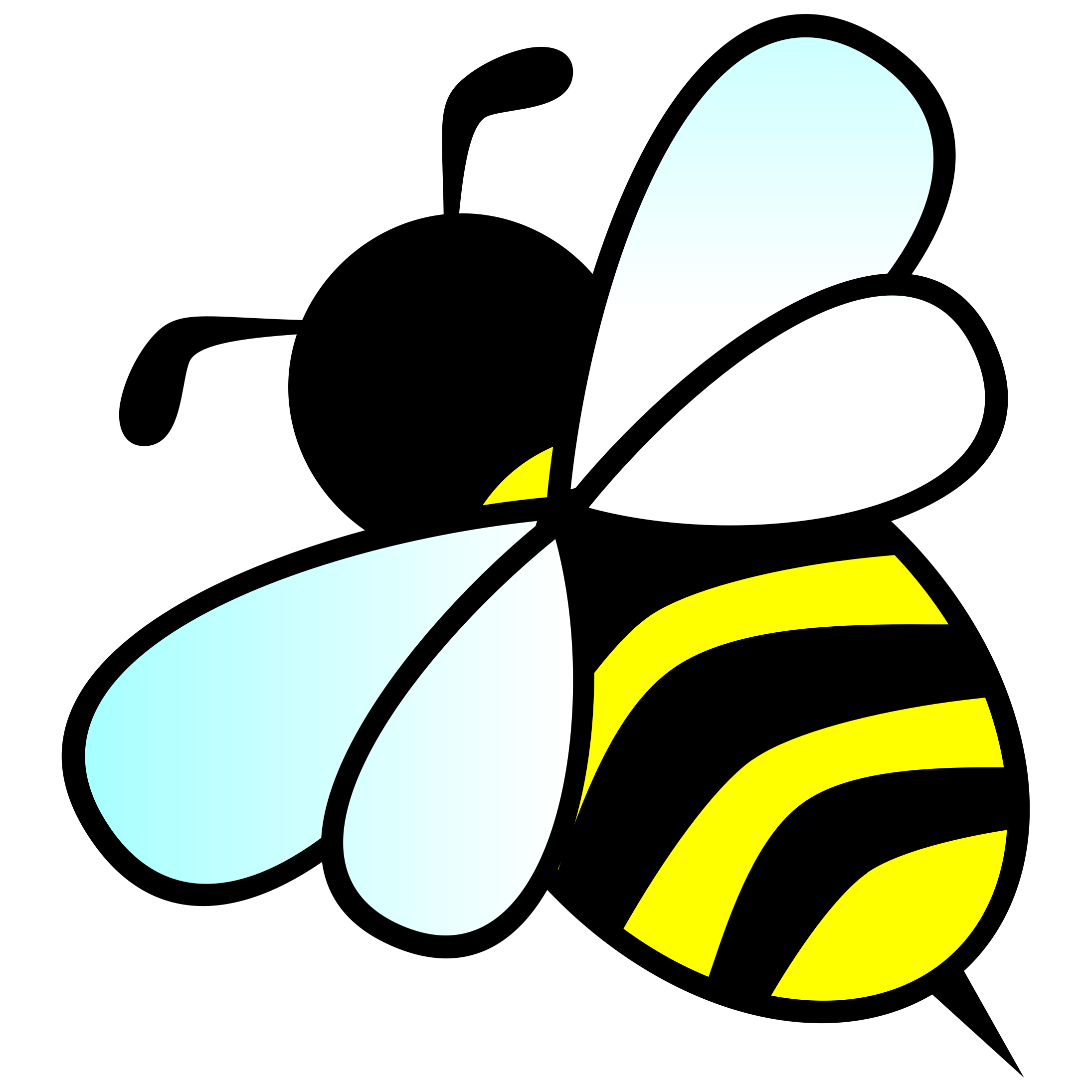 2190x2190 Bee Clipart 2 Bumble Bee Clip Art Free 5 All Rights Clipartcow 3