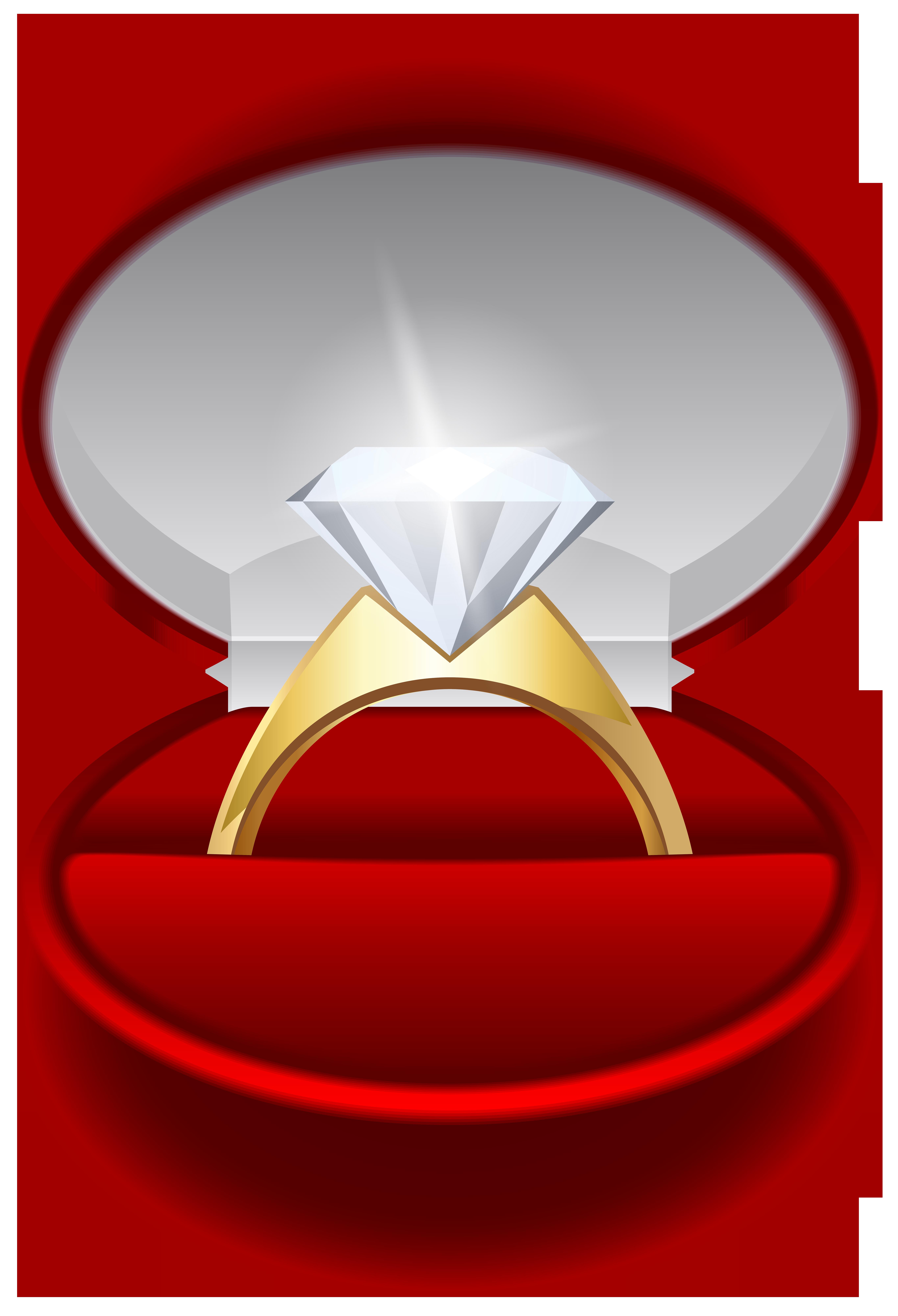 5462x8000 Engagement ring transparent clip art image
