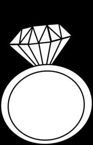 192x298 Ring Outline Clip Art