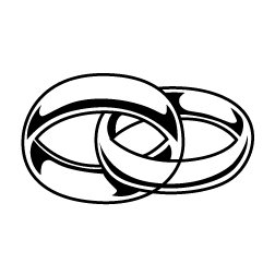 252x252 Rings Clipart
