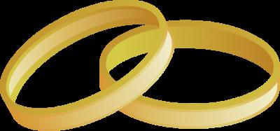 400x187 Golden Clipart Ring