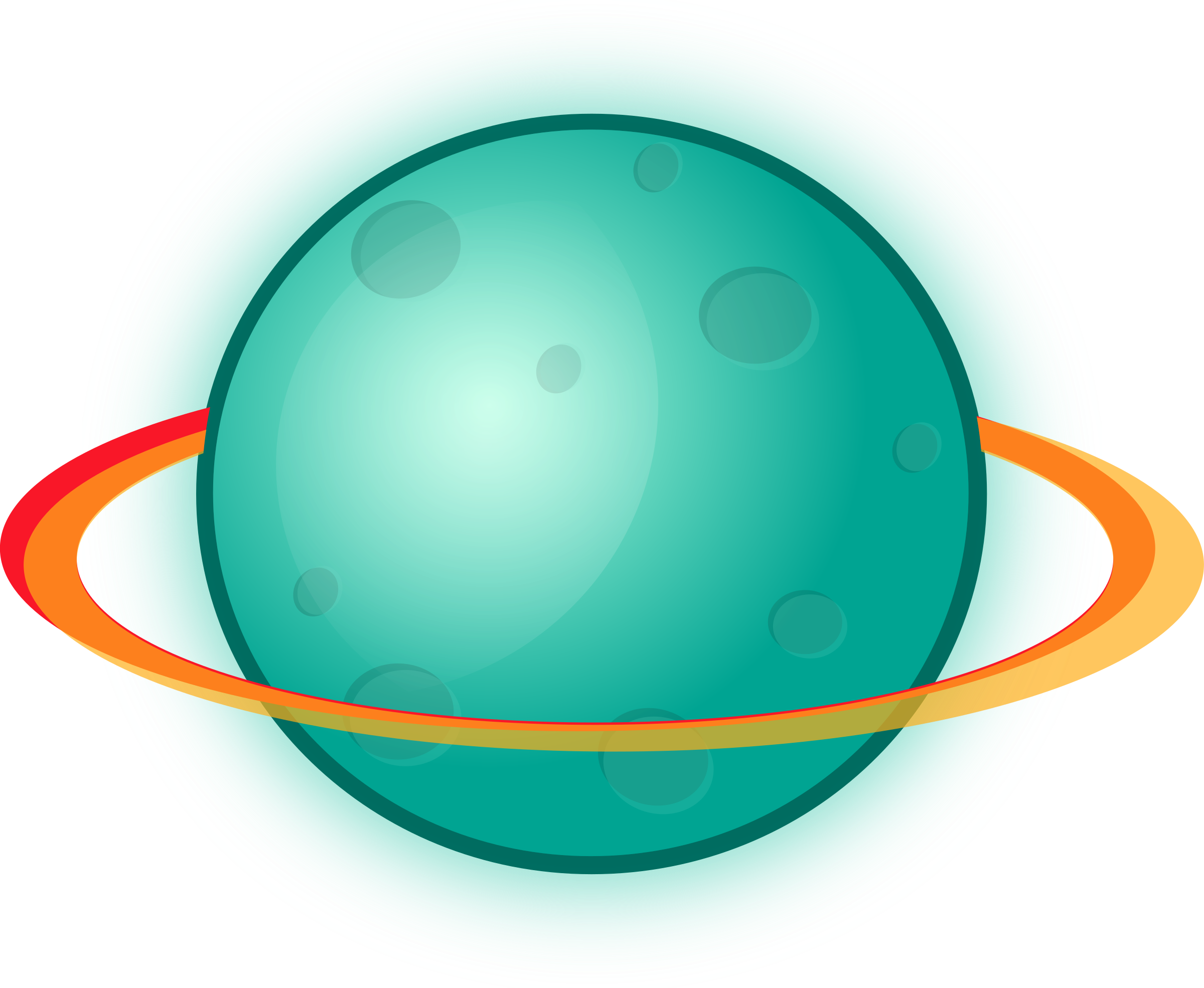 2400x1970 Ring Clipart Teal