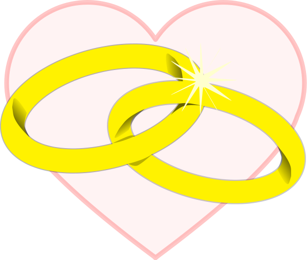 600x509 Ring Clipart Wedding Heart