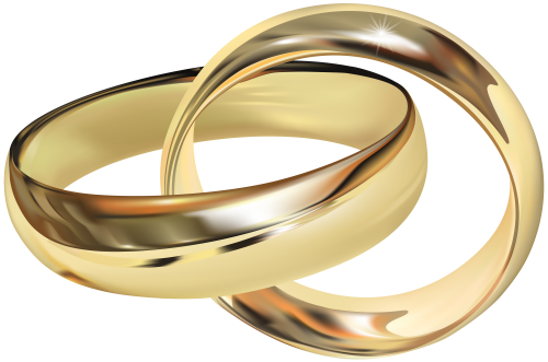 500x331 Wedding Rings Png Clip Art