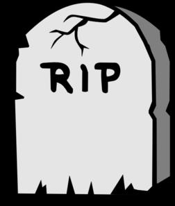252x297 Rip Gravestone Clip Art