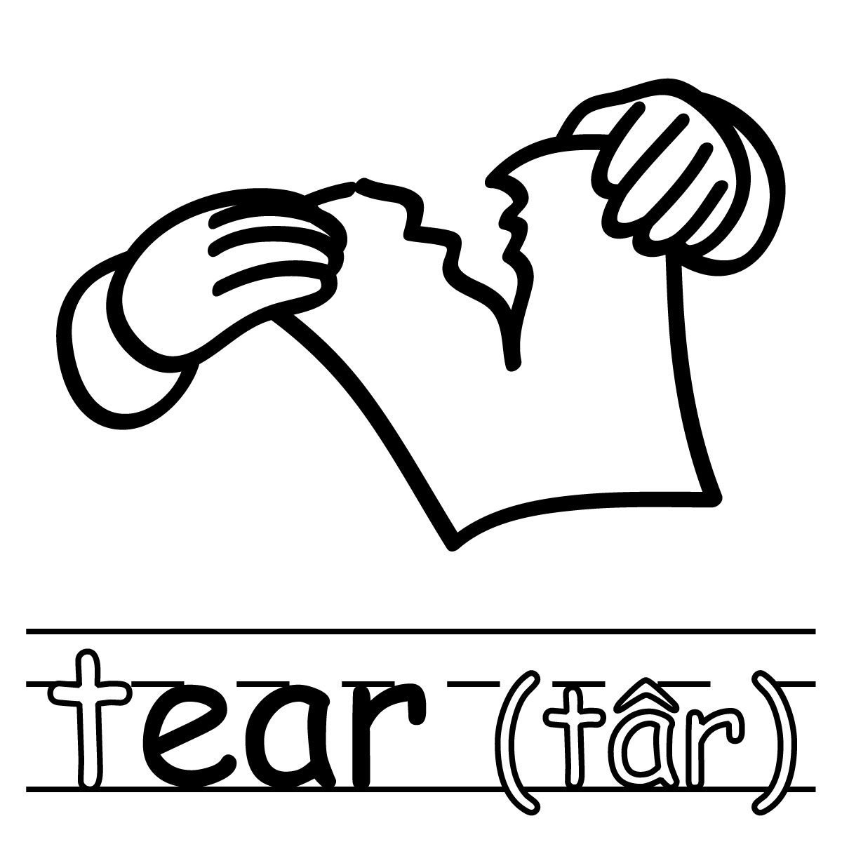 1200x1200 Tear Torn Paper Clipart