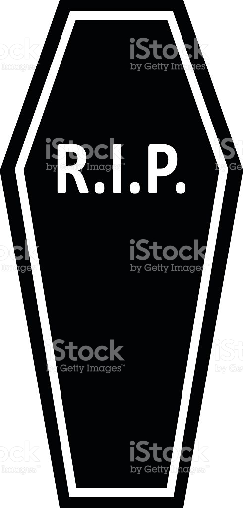 490x1024 Coffin Clipart Rip