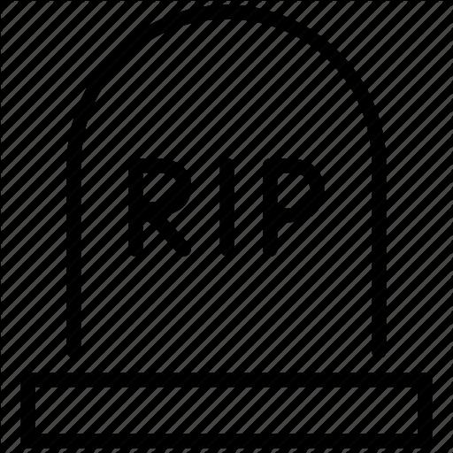 512x512 Dead Clipart Rip
