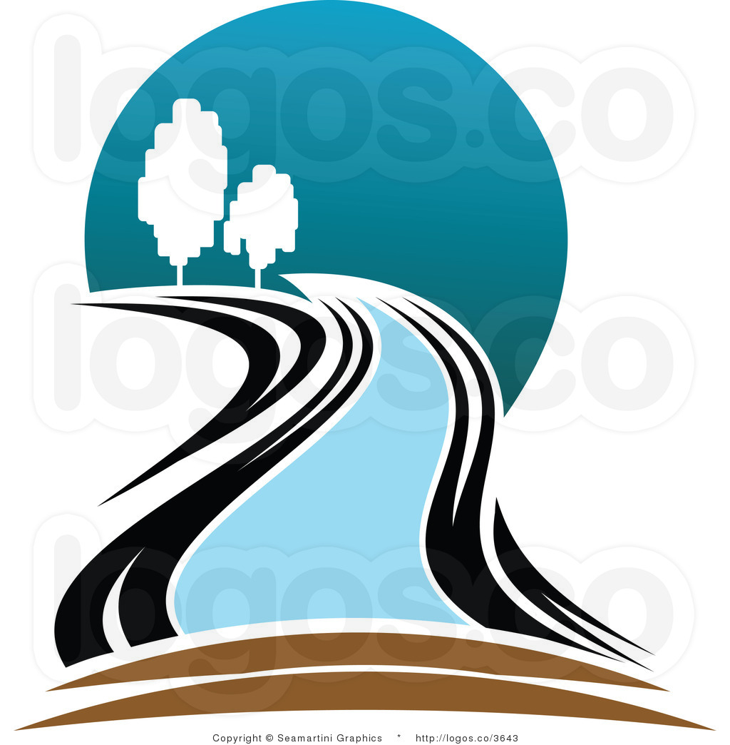 1024x1044 Cabin Clipart Winding River