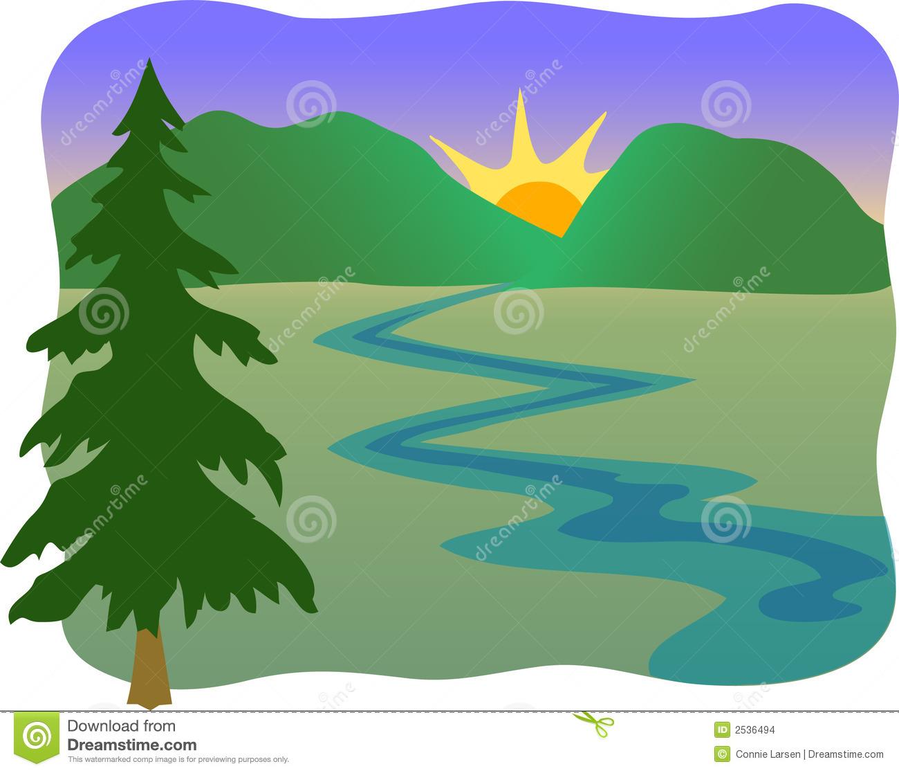 1300x1117 River clipart stream