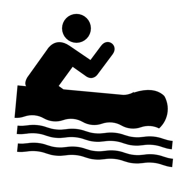 600x600 Rafting Clip Art