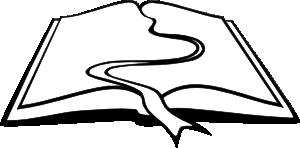 300x148 Book Flow Clip Art