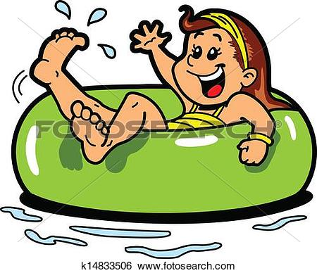 450x388 Floating Clipart River Tubing