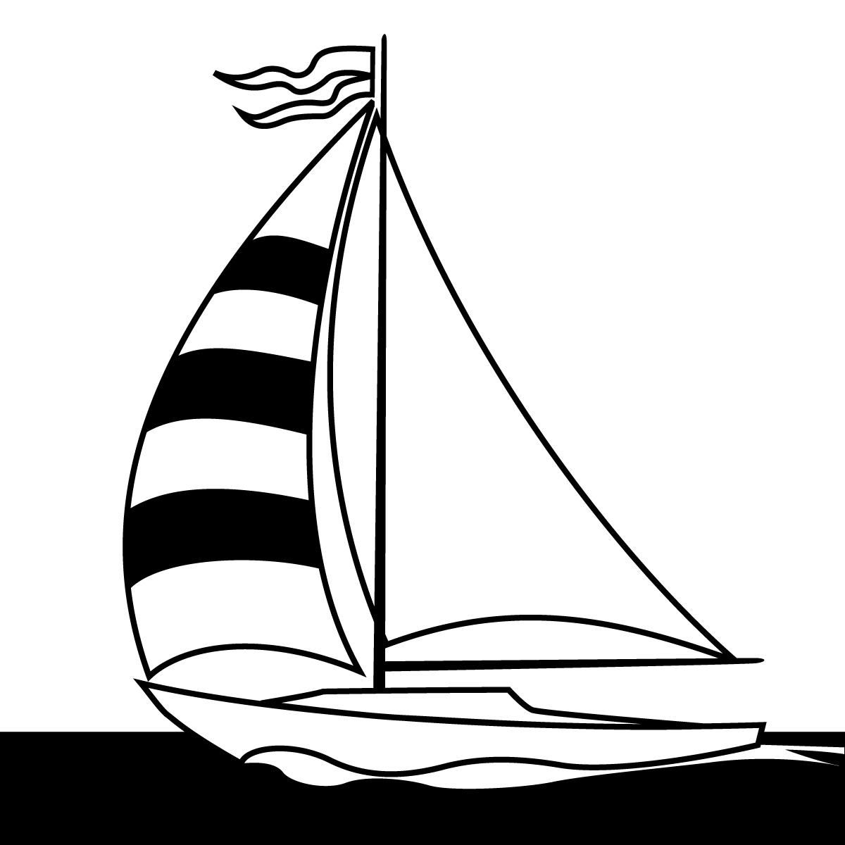 1200x1200 Sailboat Clipart, Suggestions For Sailboat Clipart, Download