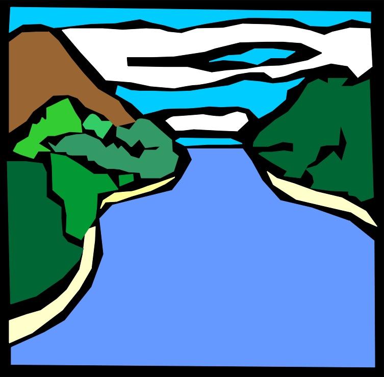 753x739 Stream Clipart River Boat