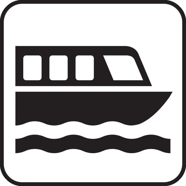 600x600 Boat Tour White Clip Art