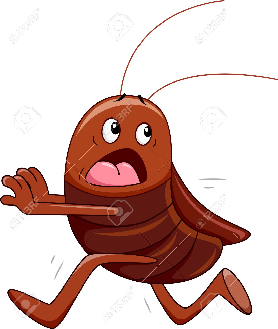 1098x1300 Cockroach clipart animated