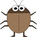 125x125 Bug Clip Art